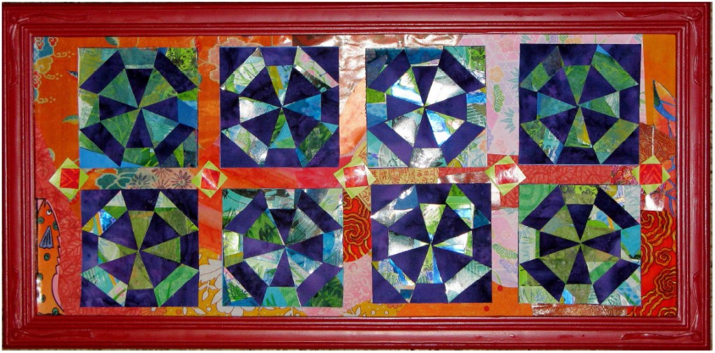 miniature-quilt-design-scrappy-spider-web-by-terry-white