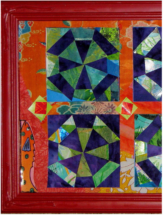 arrange-and-glue-quilt-blocks-frame-with-frame