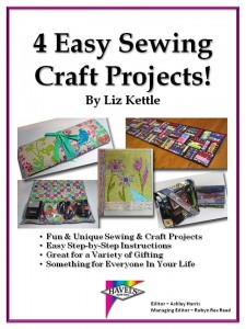 4 easy sewing craft projects by liz kettle