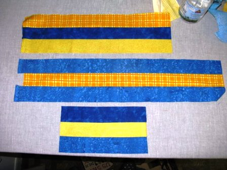 Gamby DIY Yellow Linen Patch 2