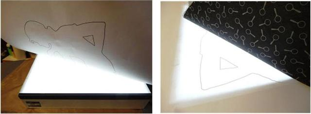 Traced images on a light box - images03&04-640x236