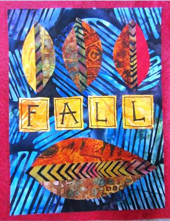 Finished Fall Flag Quilt