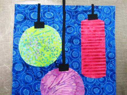Creating the Fabric Lanterns
