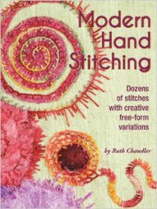 Ruth Chandler Book Modern Hand Stitching