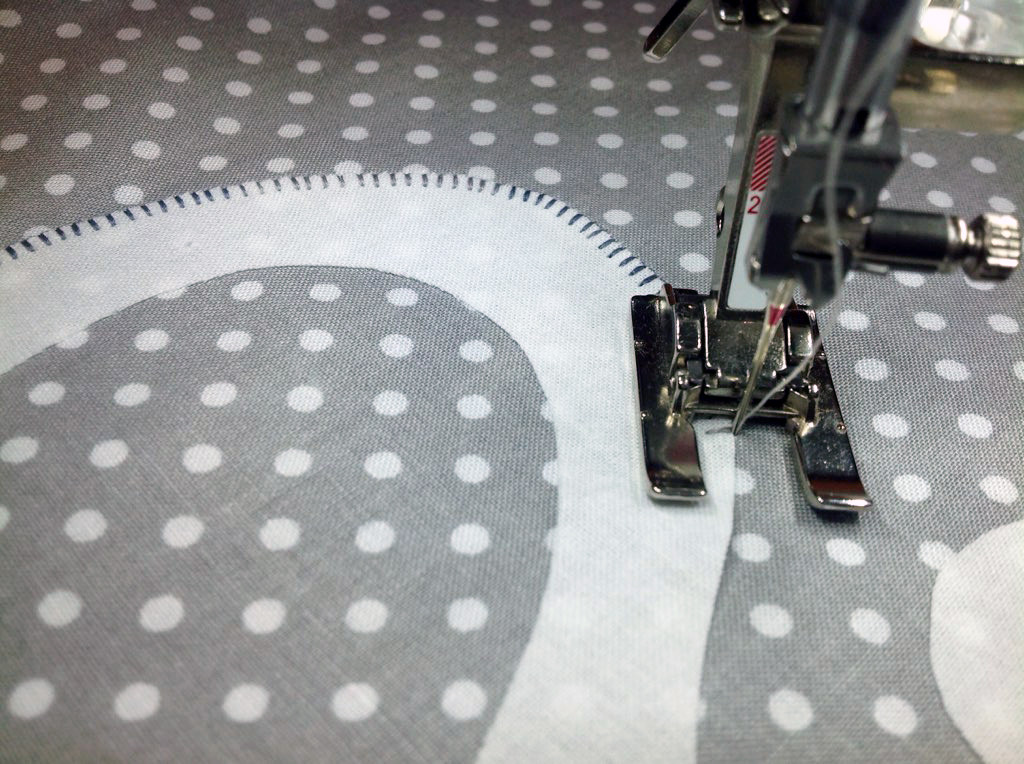 Adjust your machine's settings for a small buttonhole stitch. (Photo: Terry White)