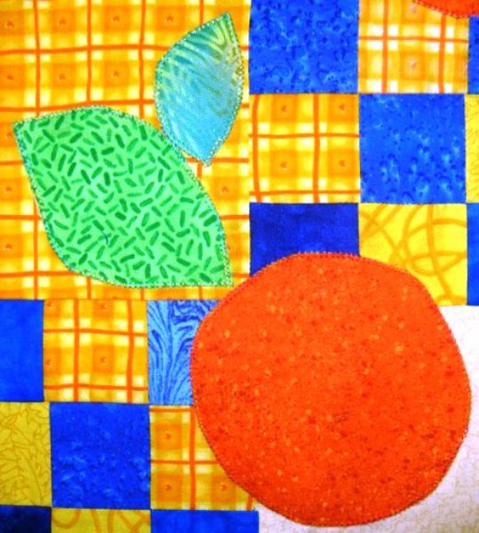 10-double-fused-applique-oranges-and-leaves-on-quilt