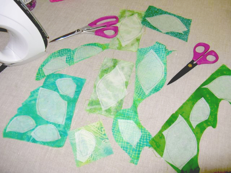 fused-applique-techniques-rough-cut-leaf-shapes